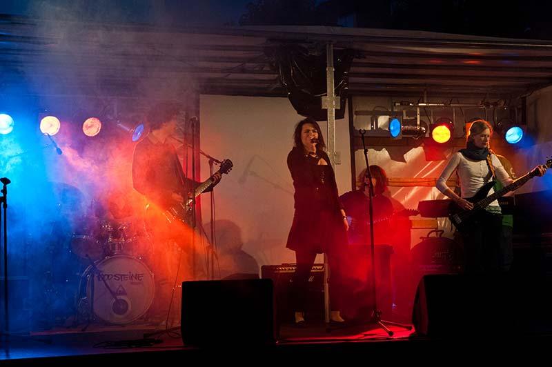 bergedorfer hafenmeile impressionen band live act abendkonzert