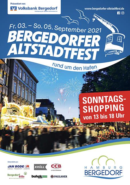 bergedorfer altstadtfest plakat